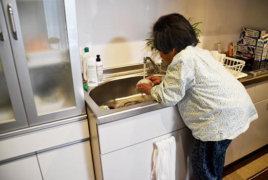 サービス付き高齢者向け住宅 台所