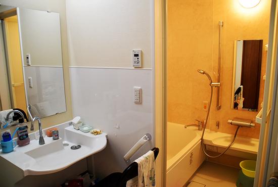 サービス付き高齢者向け住宅 お風呂場