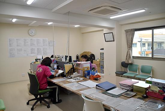 訪問介護事業所 1階事務所